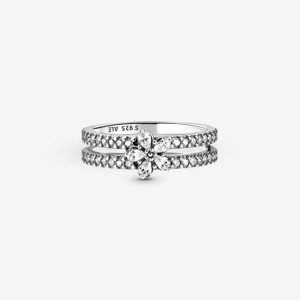 Pandora Timeless Collection Sterling Silver Snowflake Ring SVS Fine Jewelry Oceanside, NY