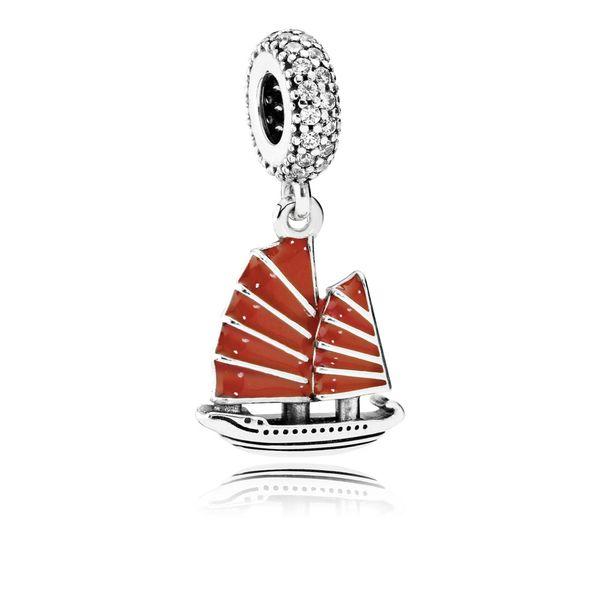 Pandora Chinese Junk Ship Dangle Charm SVS Fine Jewelry Oceanside, NY