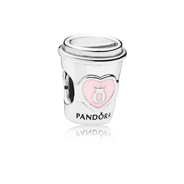Pandora Take a Break Coffee Cup Charm SVS Fine Jewelry Oceanside, NY