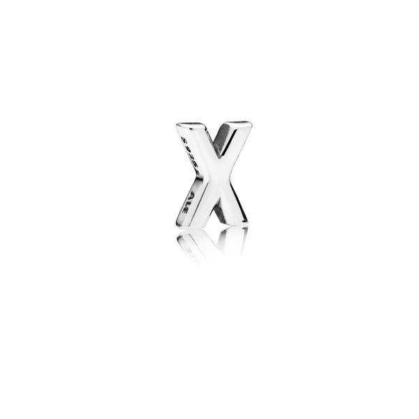 Letter X Petite silver petite element SVS Fine Jewelry Oceanside, NY