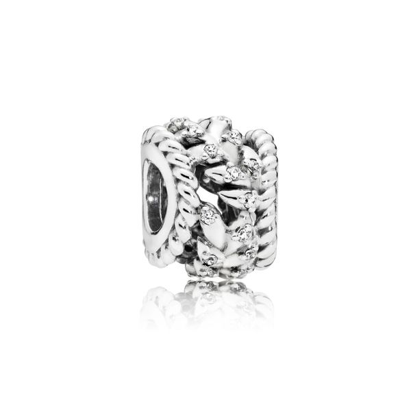 Pandora Openwork Wheat Grains Charm SVS Fine Jewelry Oceanside, NY