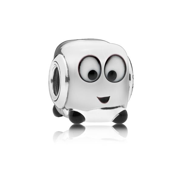 Pandora Square Cartoon Face Murano Glass Charm SVS Fine Jewelry Oceanside, NY
