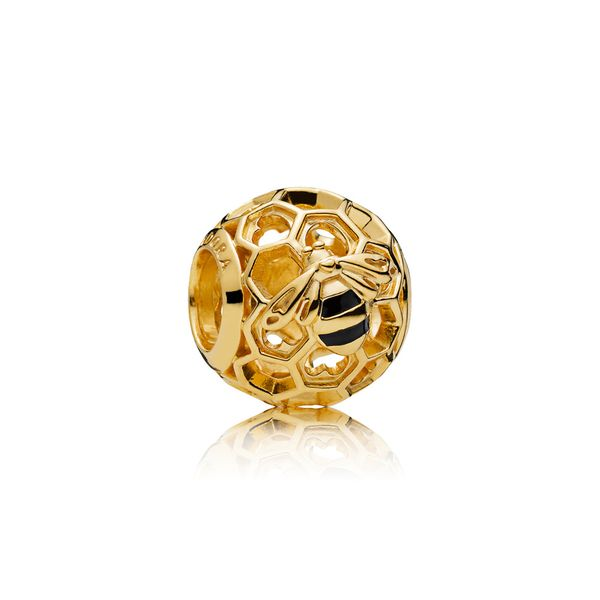 Pandora Bee Honeycomb Charm SVS Fine Jewelry Oceanside, NY
