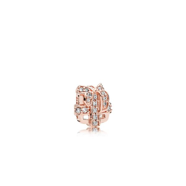 Gift petite element in Rose with clear CZ SVS Fine Jewelry Oceanside, NY