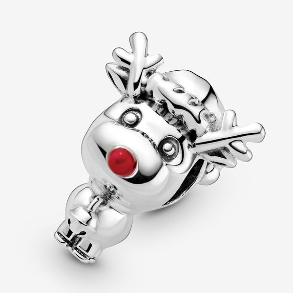 Pandora Passions Collection Sterling Silver Reindeer Charm SVS Fine Jewelry Oceanside, NY
