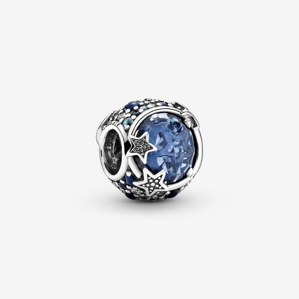 Pandora Passions Collection Sterling Silver Blue Stars Charm SVS Fine Jewelry Oceanside, NY