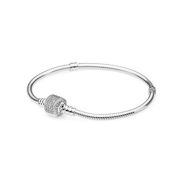 Pandora Icons Collection Sterling Silver Snake Chain Bracelet SVS Fine Jewelry Oceanside, NY