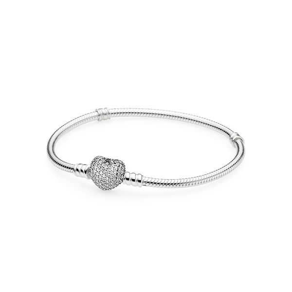 Pandora Icons Collection Sterling Silver Sparkling Bracelet SVS Fine Jewelry Oceanside, NY