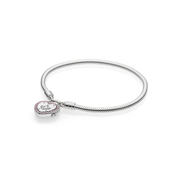 Pandora Moments Collection Silver Snake Chain Bracelet SVS Fine Jewelry Oceanside, NY