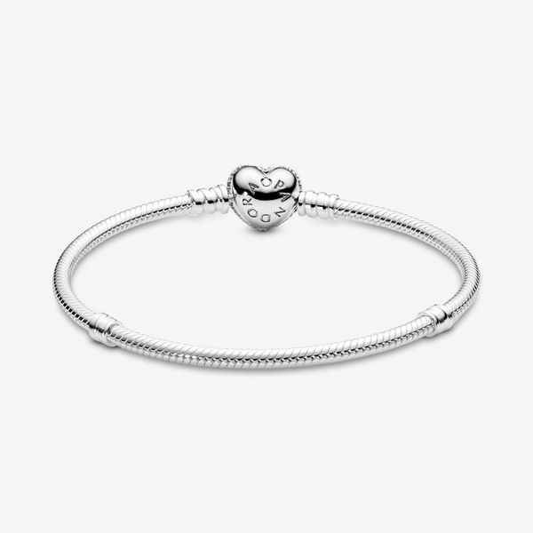 Pandora Icons Collection Sterling Silver Sparkling Bracelet Image 2 SVS Fine Jewelry Oceanside, NY