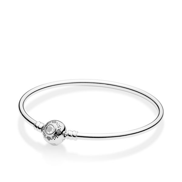 Pandora Disney x Pandora Collection Silver Bangle SVS Fine Jewelry Oceanside, NY
