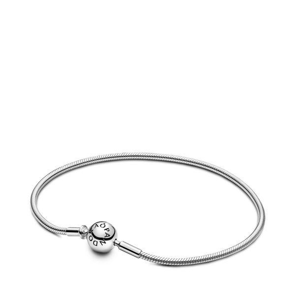 Pandora Me Collection Sterling Silver Snake Chain Bracelet SVS Fine Jewelry Oceanside, NY