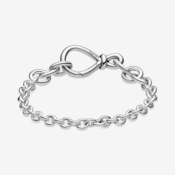 Pandora Passions Collection Sterling Silver Infinity Bracelet Image 2 SVS Fine Jewelry Oceanside, NY
