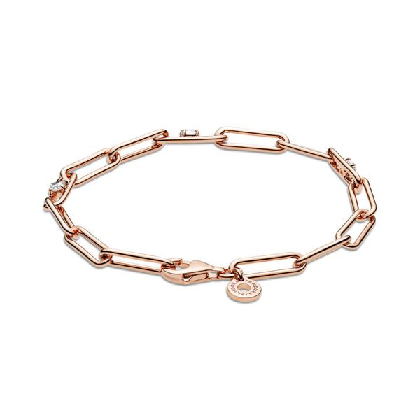 Pandora Icons Collection Rose Gold Plated Silver Bracelet SVS Fine Jewelry Oceanside, NY