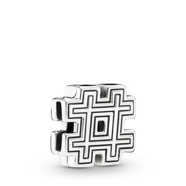Pandora Reflexions Collection Sterling Silver Hashtag Charm SVS Fine Jewelry Oceanside, NY