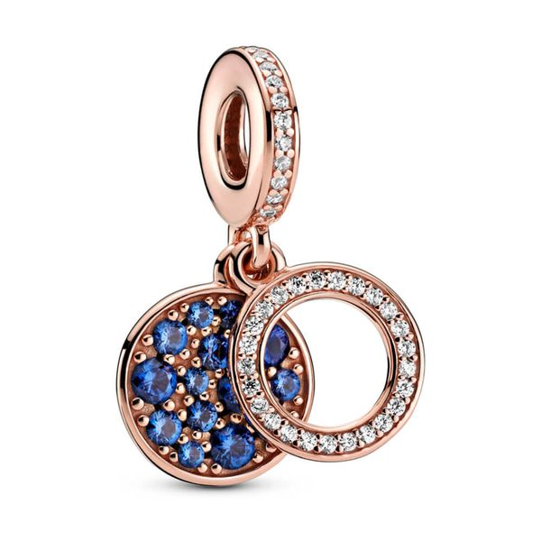 Pandora Colours Collection Rose Gold Plated Silver Charm SVS Fine Jewelry Oceanside, NY