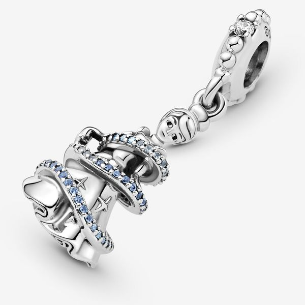 Pandora Disney x Pandora Collection Sterling Silver Charm SVS Fine Jewelry Oceanside, NY