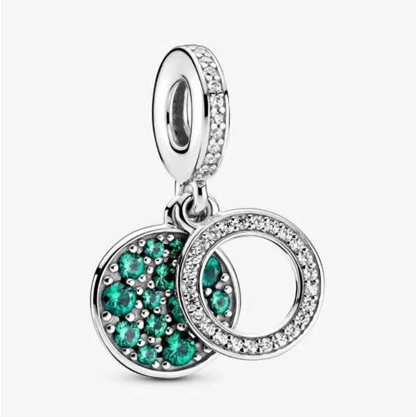Pandora Colours Collection Sterling Silver Green Charm SVS Fine Jewelry Oceanside, NY