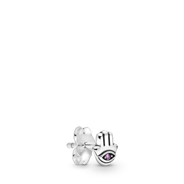 Pandora Me Collection Sterling Silver Hand Single Earring SVS Fine Jewelry Oceanside, NY