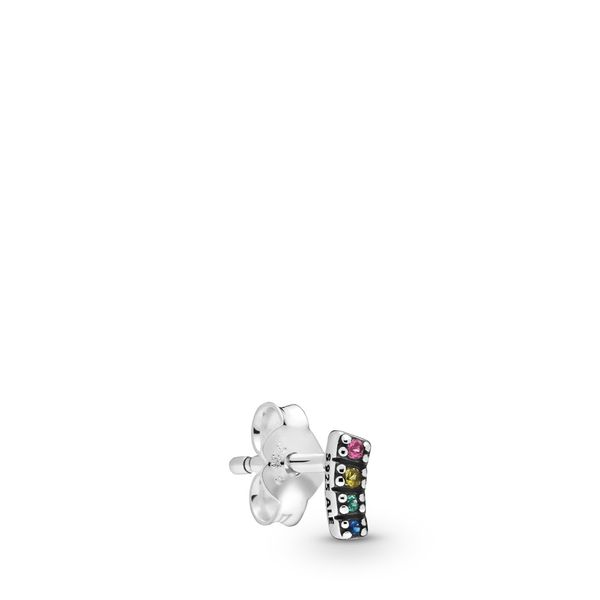 Pandora Me Collection Sterling Silver Pride Single Earring SVS Fine Jewelry Oceanside, NY