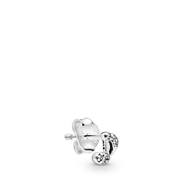 Pandora Me Collection Sterling Silver Note Single Earring SVS Fine Jewelry Oceanside, NY
