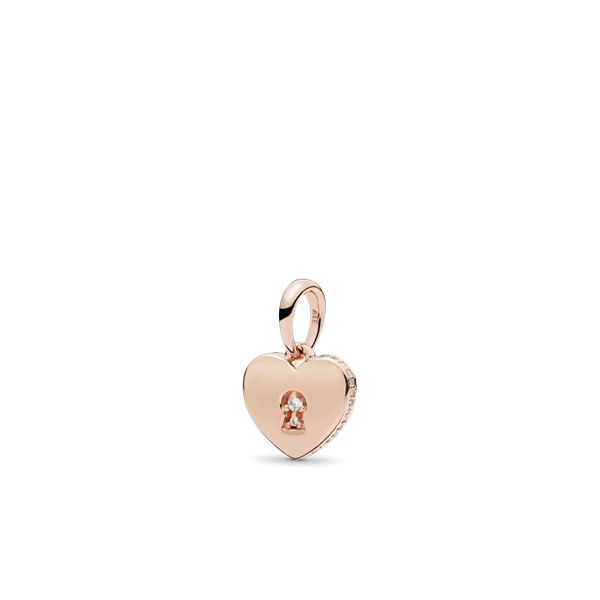 Pandora People Collection Rose Gold Plated Silver Pendant SVS Fine Jewelry Oceanside, NY