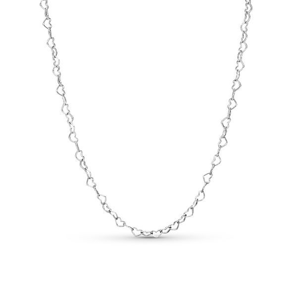 Pandora Joined Hearts Necklace SVS Fine Jewelry Oceanside, NY