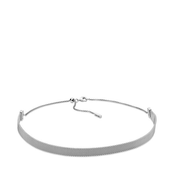 Pandora Reflexions Mesh Choker Necklace SVS Fine Jewelry Oceanside, NY