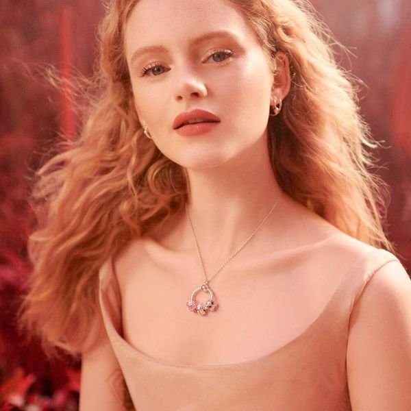 Pandora Icons Collection Rose Gold Plated Silver Pendant Image 4 SVS Fine Jewelry Oceanside, NY