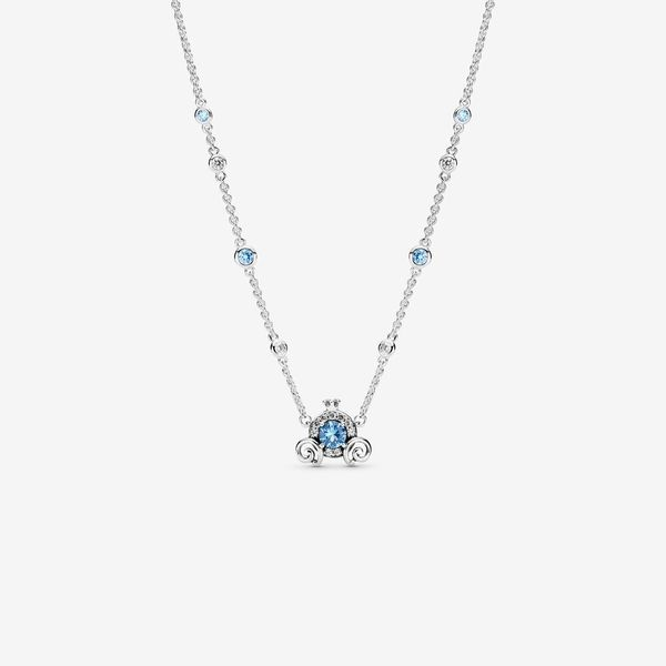 Pandora Disney x Pandora Collection Sterling Silver Necklace SVS Fine Jewelry Oceanside, NY