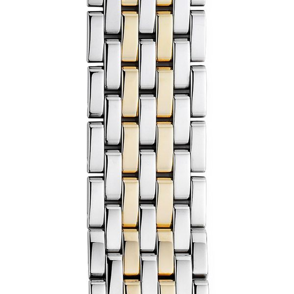 Michele Watch Deco 18 mm 7-Link Two-Tone Bracelet SVS Fine Jewelry Oceanside, NY