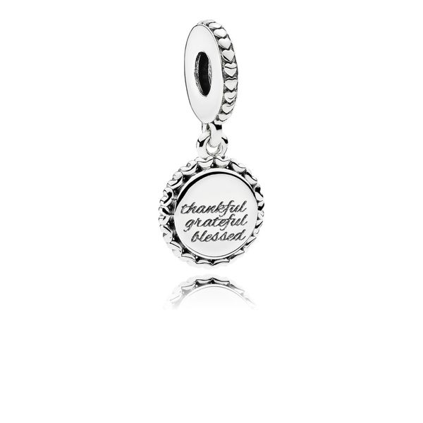 Pandora Thankful, Grateful, Blessed Dangle Charm SVS Fine Jewelry Oceanside, NY