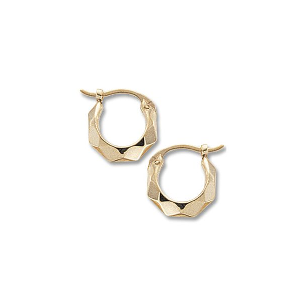 Carla 14K Yellow Gold Small Hoop Earrings Swede's Jewelers East Windsor, CT