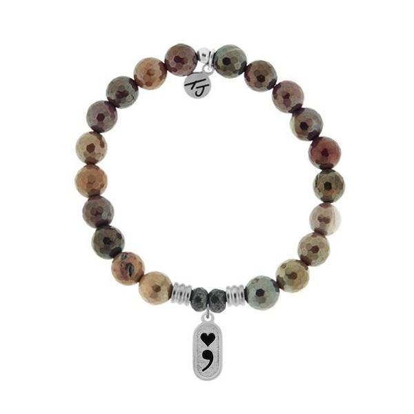 Tjazelle Mookaite 8Mm Bracelet Continue Swede's Jewelers East Windsor, CT