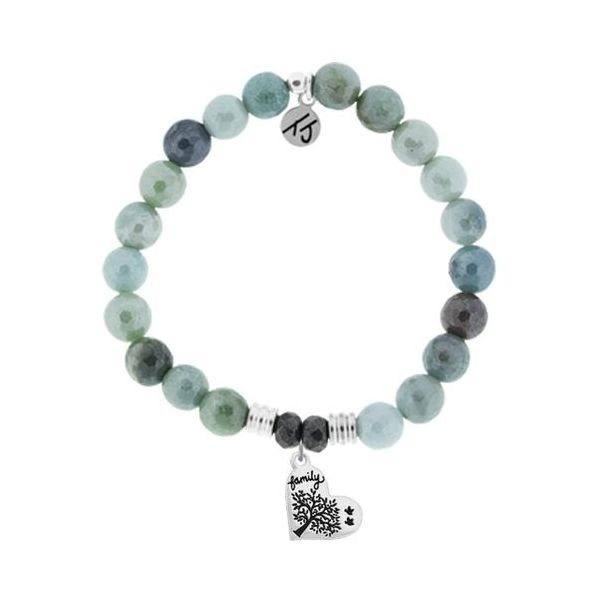 Tjazelle Amazonite 8Mm Bracelet Family Tree Swede's Jewelers East Windsor, CT