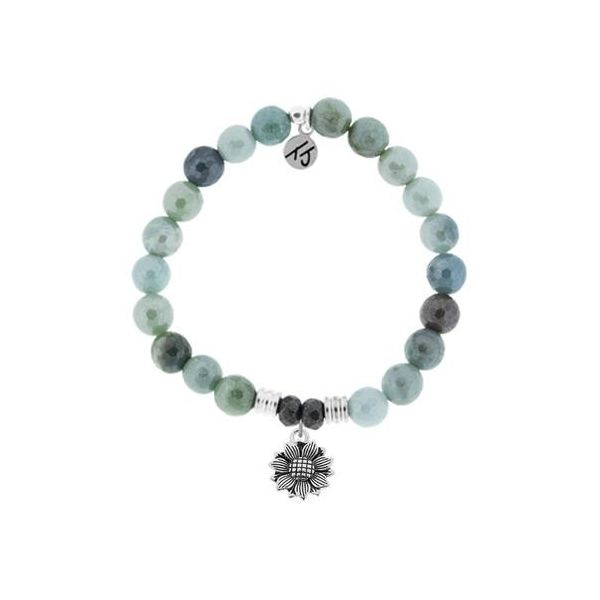 Tjazelle Amazonite 8Mm Bracelet Sunflower Swede's Jewelers East Windsor, CT