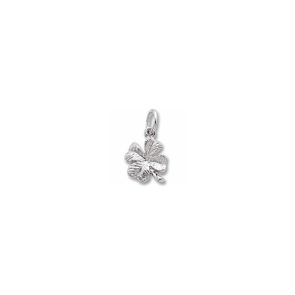Sterling Silver 4 Leaf Clover charm Swede's Jewelers East Windsor, CT