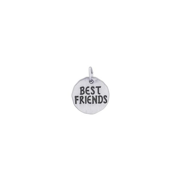 Sterling Silver Best Friends Charm Swede's Jewelers East Windsor, CT