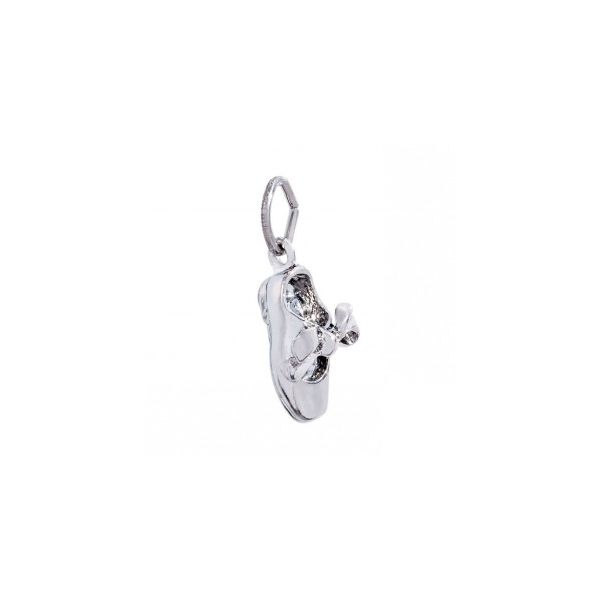 Sterling Silver Tap Shoe charm Swede's Jewelers East Windsor, CT