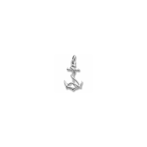 Sterling Silver Anchor charm Swede's Jewelers East Windsor, CT