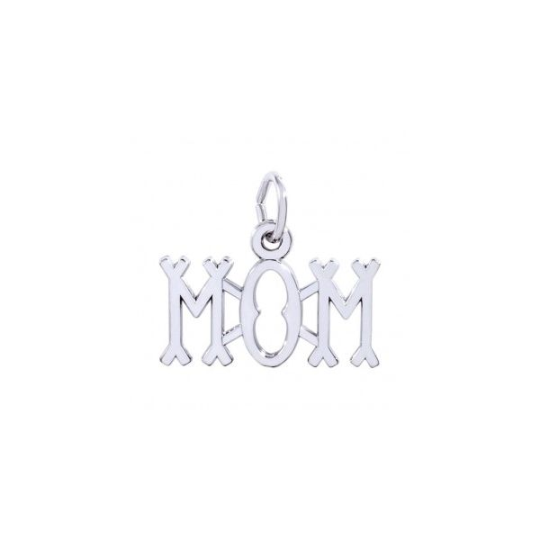 Sterling Silver Mom Charm Swede's Jewelers East Windsor, CT
