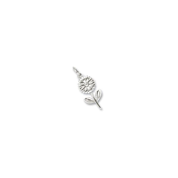 Sterling Silver Daisy charm Swede's Jewelers East Windsor, CT