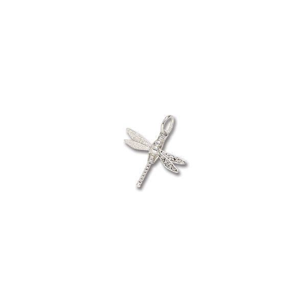 Sterling Silver Dragonfly charm Swede's Jewelers East Windsor, CT