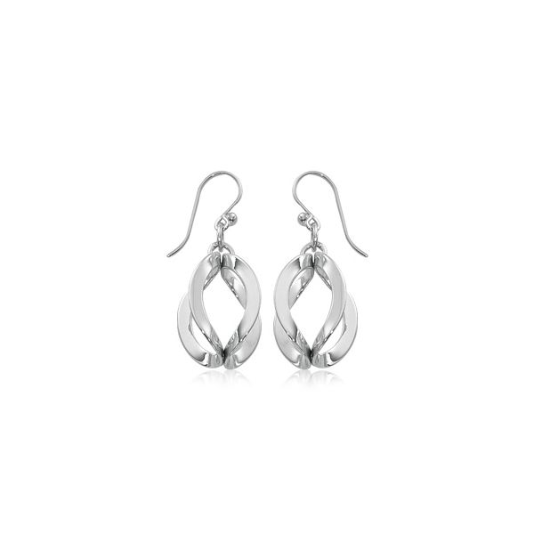 Carla Sterling Silver Dangle Earrings Swede's Jewelers East Windsor, CT