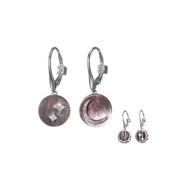 Elle Jewelry Silver Earrings Swede's Jewelers East Windsor, CT