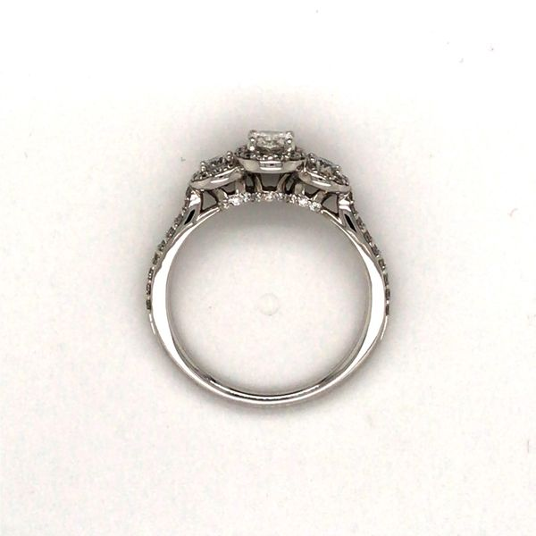 1.00CT T.W OVAL CUT DIAMOND 14KT WHITE GOLD ENGAGEMENT RING SIZE 6.75 Image 4 Taylors Jewellers Alliston, ON
