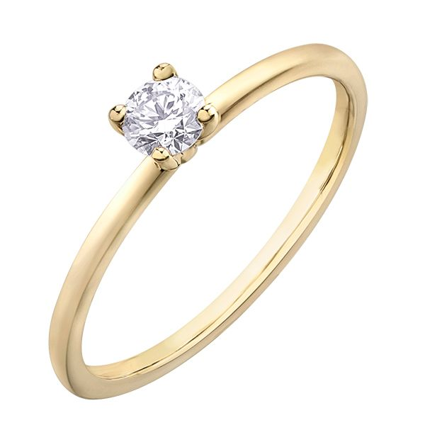 0.20CT DIAMOND SOLITAIRE