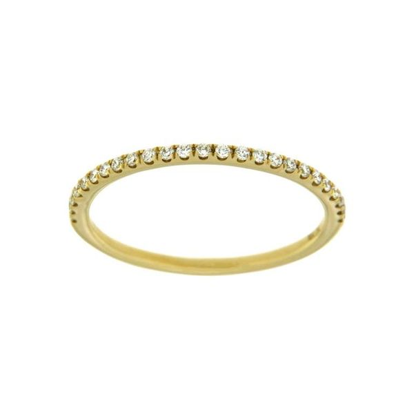 18KT YELLOW GOLD DIAMOND BAND 0.15CT T.W Taylors Jewellers Alliston, ON