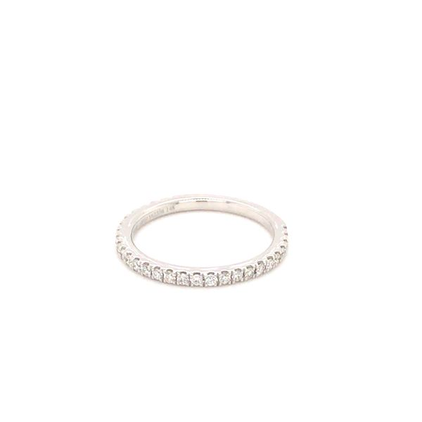 0.36CT T.W DIAMOND NOAM CARVER 14KT WHITE GOLD STACKABLE RING SIZE 6.5 Image 4 Taylor's Jewellers Alliston, ON