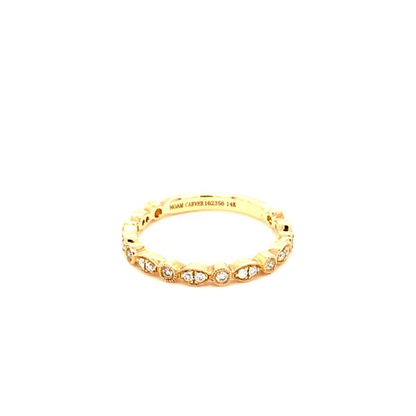 0.21CT T.W DIAMOND NOAM CARVER STACKABLE 14KT YELLOW GOLD RING SIZE 6.5 Image 2 Taylor's Jewellers Alliston, ON